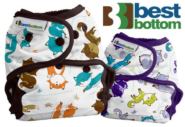 Best Bottom Diaper Fox Trot et Foxy Frolic