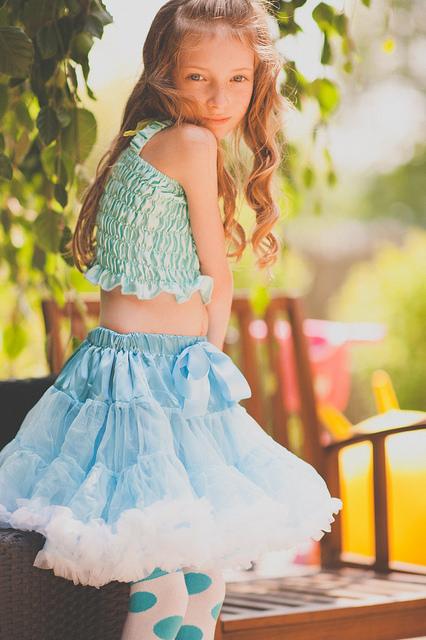 Pettiskirt, les jupes tutu pour petites filles