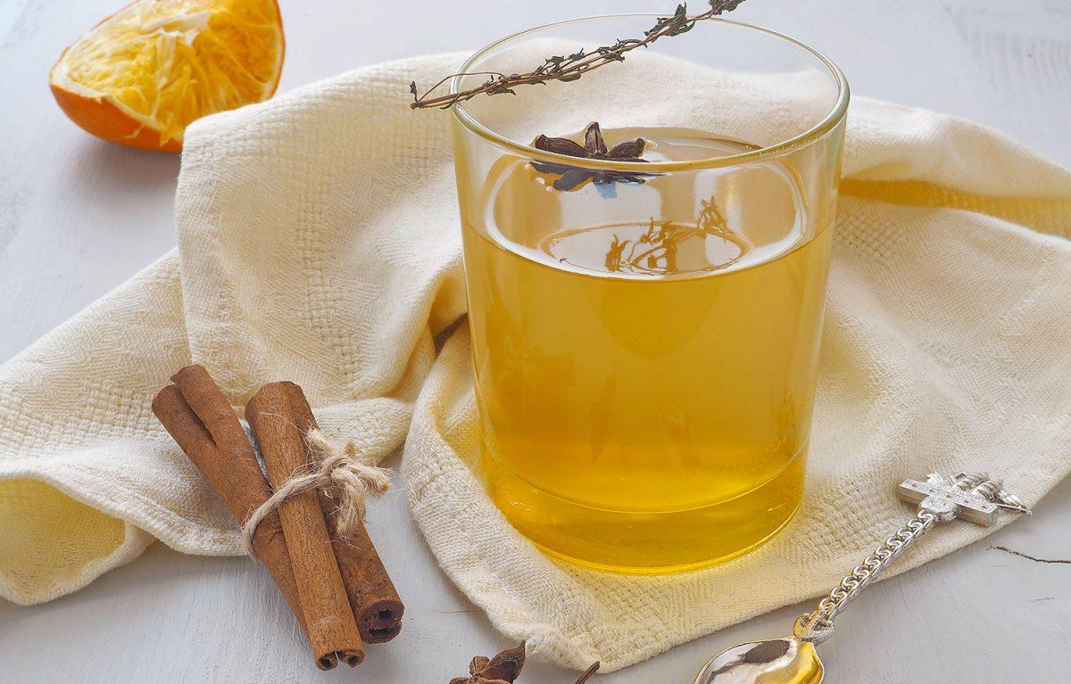 Tisane Thym, cannelle, citron