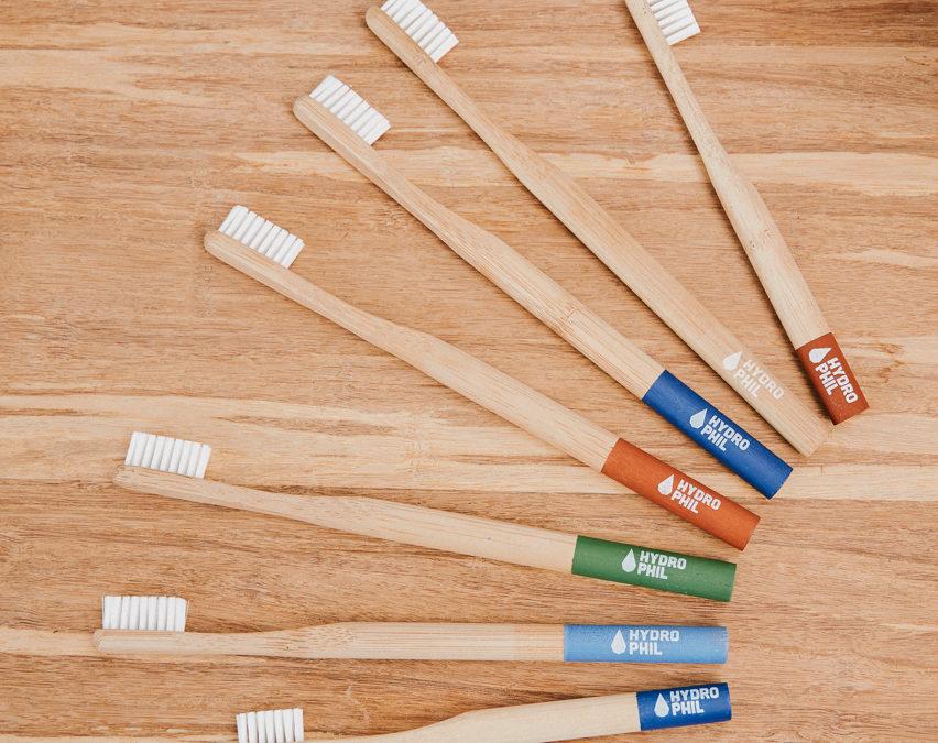 Dans ma salle de bain, il y a… des brosses à dents zéro déchet