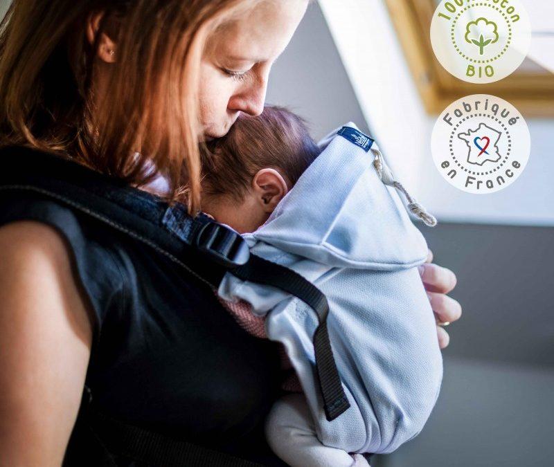 Zoom sur le Néo de Néobulle, porte-bébé physiologique dès la naissance
