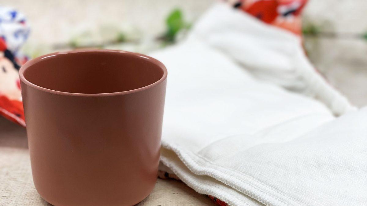 Décrasser vos couches lavables : le test du verre d'eau