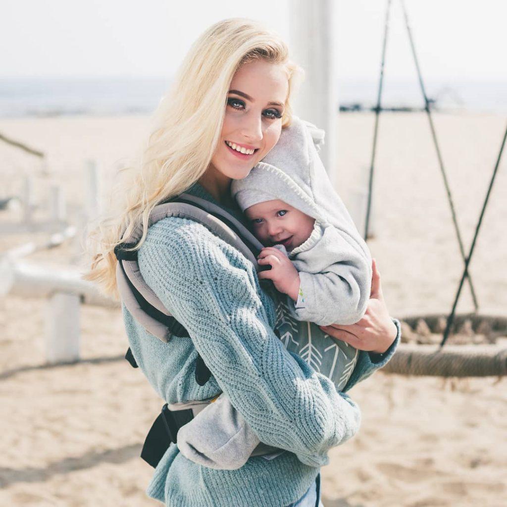 couverture tuppence & crumble pour porter bébé