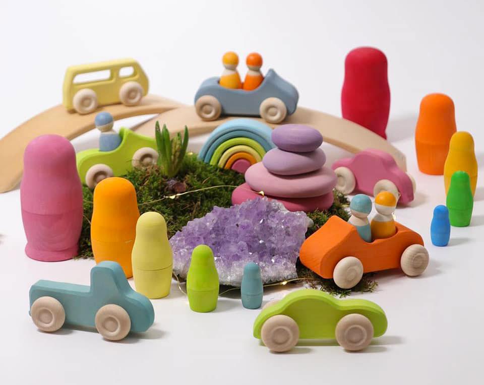 jouets libres en bois Grimm's