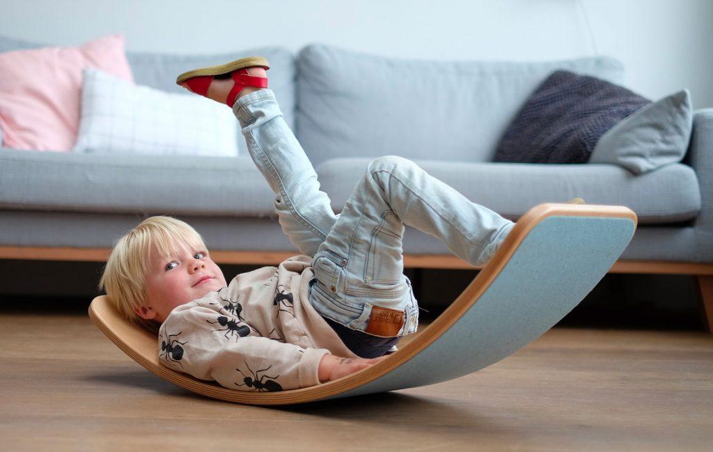 planche d'équilibre wobbel pour enfant