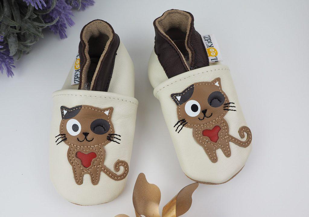 chaussons souples pour bébé
