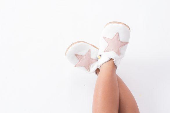chaussons lookidz étoile rose